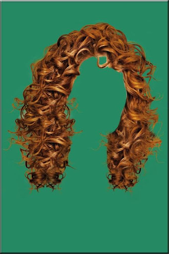Woman Hair Style Photo Montage