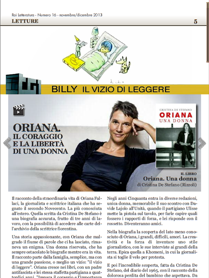 Rai Letteratura- screenshot