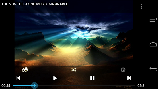 PVSTAR+ (YouTube Music Player) - screenshot thumbnail