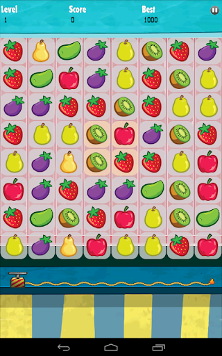 Fruit Jewels Matching Game