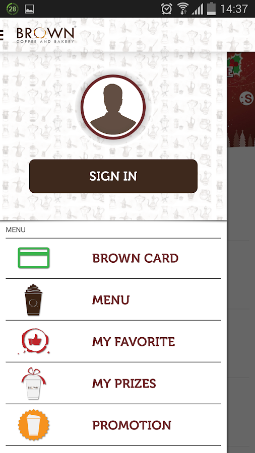 Brown Coffee- screenshot