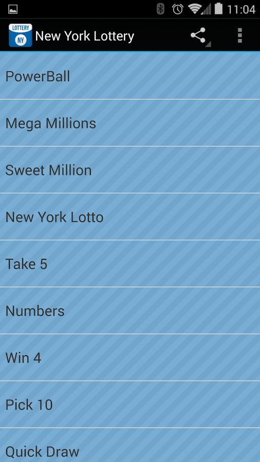 Lotto Results New York
