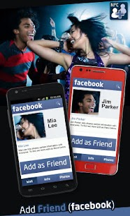 Add Friend (Facebook) - screenshot thumbnail