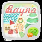 (FREE)GO SMS RAYNA THEME icon