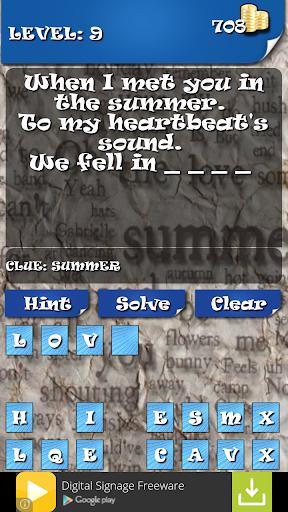 【免費解謎App】Chart Music Lyrics Quiz-APP點子