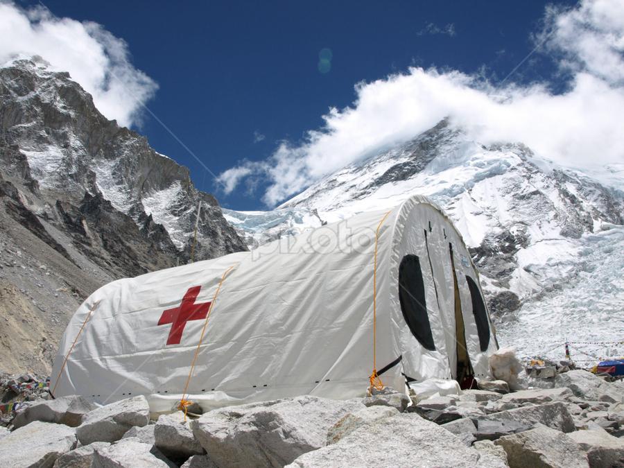 Everest Base Camp by Frank Tschöpe - Landscapes Mountains & Hills