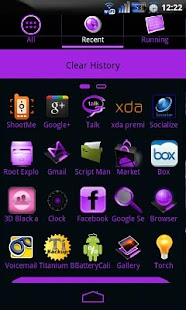 GoSocial(Pu) Theme Go Launcher - screenshot thumbnail