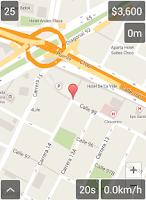 Screenshot of Taxímetro GPS
