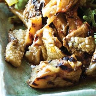Charles Phan's Roasted Eggplant and Leek Salad.