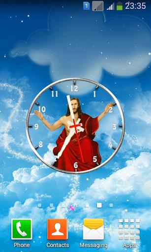 Jesus Analog Clock