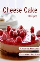 Screenshot of Cheesecake Recipes Cookbook