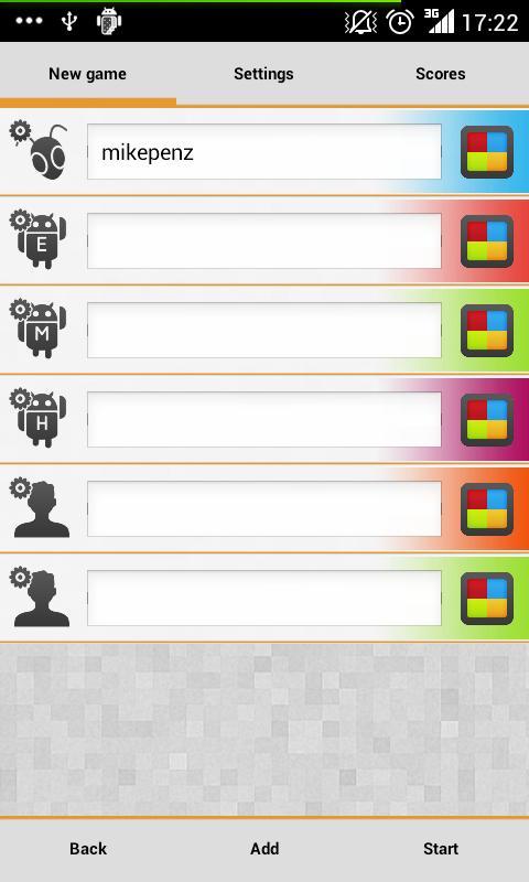 MegaFarkle HD- screenshot