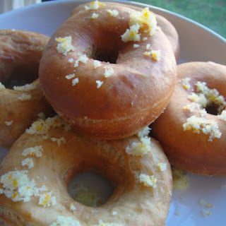 Spiced Doughnuts with Cardamom, Coffee, and Orange