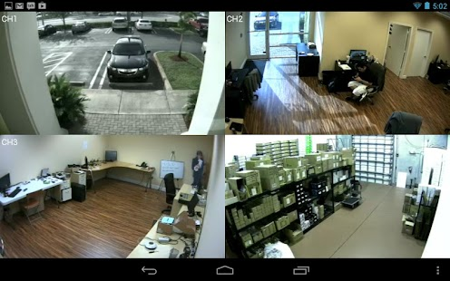 Viewtron CCTV DVR Viewer App - screenshot thumbnail