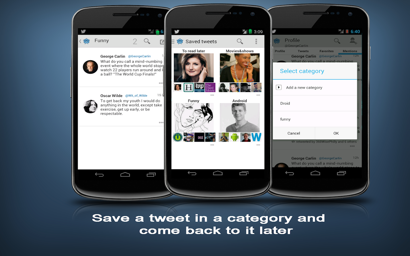 Tweetr+ for Twitter - screenshot