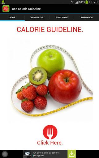 Calorie Guideline 1.0