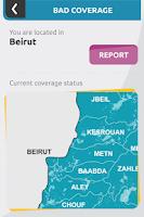Screenshot of touch Lebanon