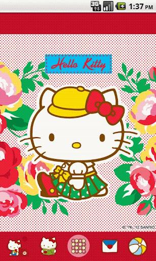 Hello Kitty RosePretty Theme