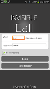 Invisible Call - screenshot thumbnail