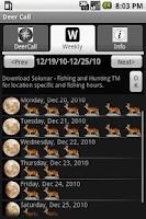 Screenshot of Deer Call