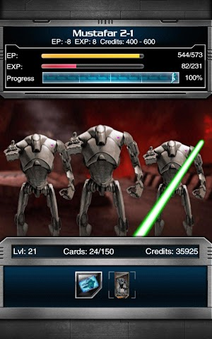 android Star Wars Force Collection Screenshot 9
