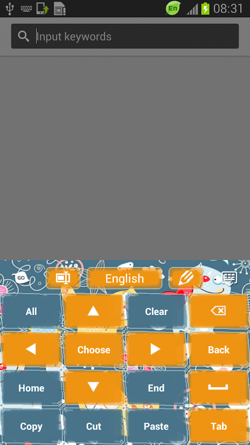Cute Keyboard Tablet - screenshot