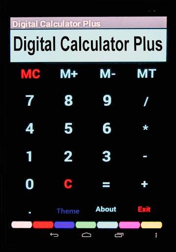デジタル計算機プラス