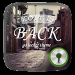 Love is back GO Locker Theme v1.00