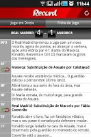 Screenshot of Jornal Record