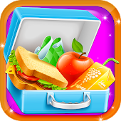 Lunch Box Maker - School Games