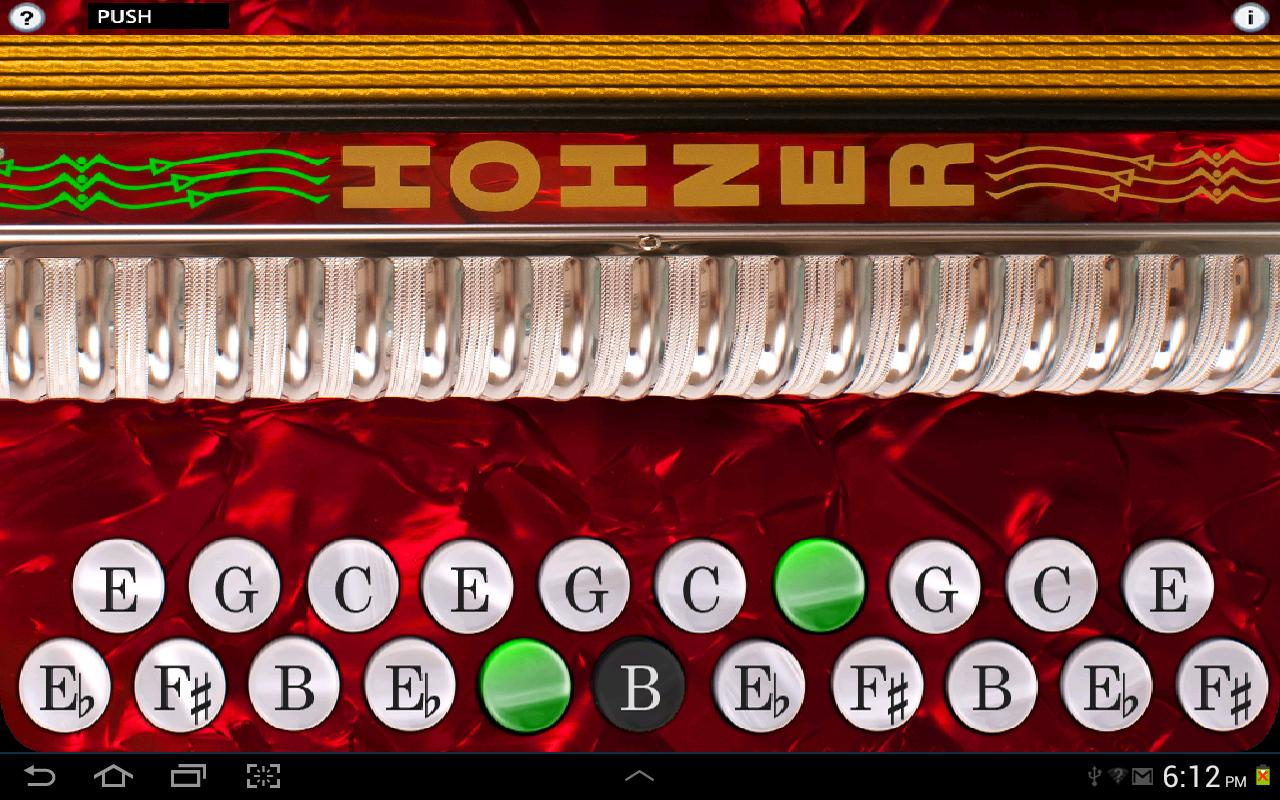Hohner B/C Button Accordion - screenshot