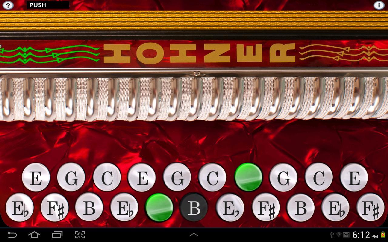 Hohner B/C Button Accordion - screenshot