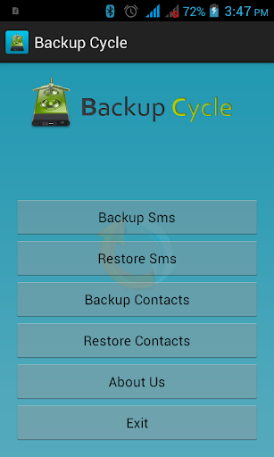 Backup Cycle