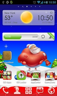 Christmas Go Launcher Theme - screenshot thumbnail