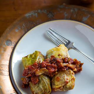 Vegan Cabbage Rolls Recipe