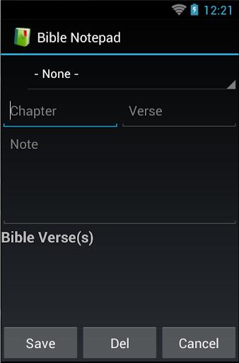 Bible Notepad