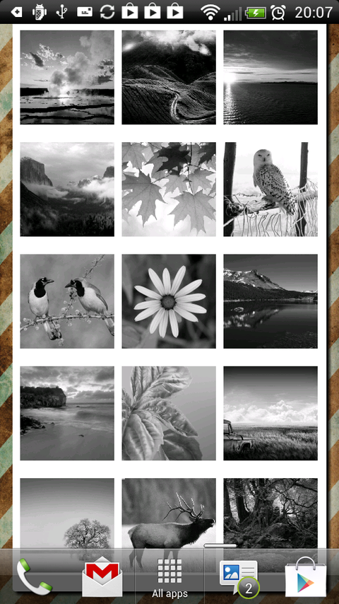 Galaxy camera slideshow - screenshot