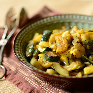Sauteed Zucchini and Summer Squash.