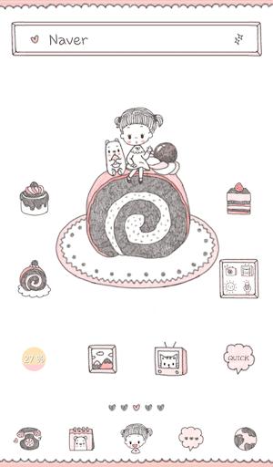anna bella cake dodol theme