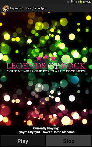 Legends Of Rock Radio App