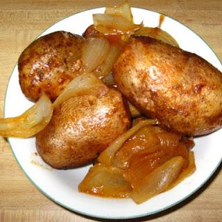 Crock-Pot Baked Potatoes.