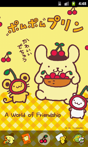 Pom Pom Purin Loves Cherry