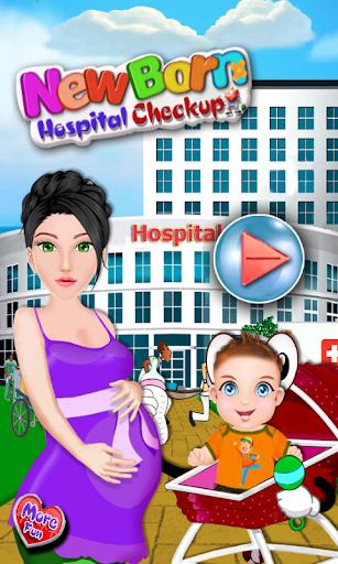 新生兒健康的寶寶遊戲