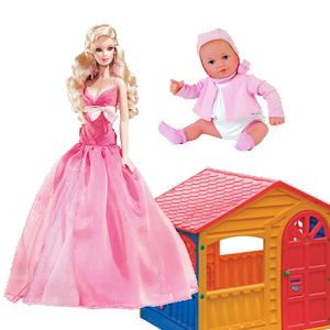 Dolls for girls, game for girl for PC and MAC