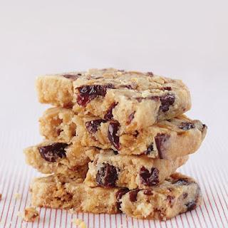 Allison's Honeyed Almond-Cherry Shortbread