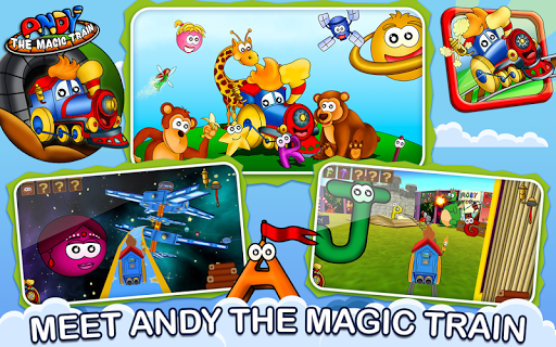Kids Game Andy The Magic Train
