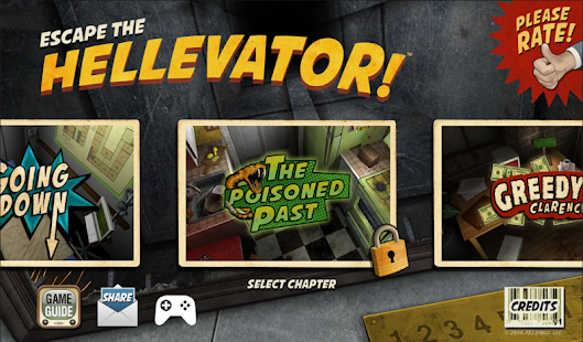 Escape the Hellevator! Screenshot 1