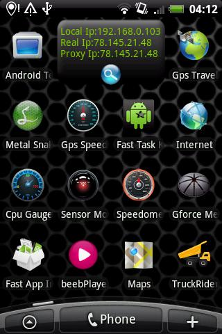 My Ip Widget Pro - screenshot
