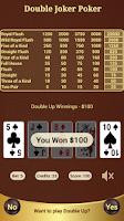 Screenshot of Double Joker Poker