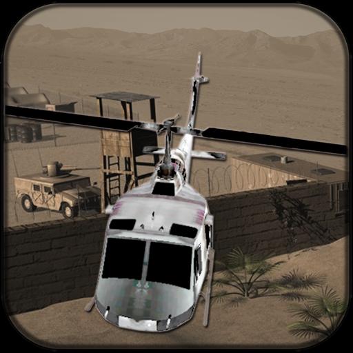 直升机沙漠行动 動作 App LOGO-APP試玩